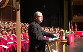 Bishop Miehm - Distinguished Grad