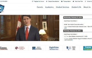 PMJT on SMH Homepage -- February 21, 2018