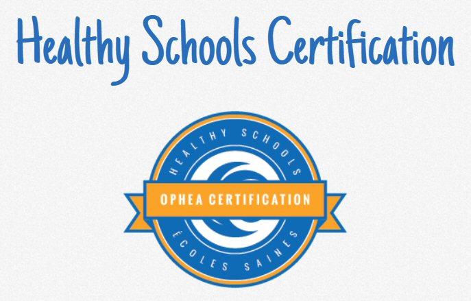 Healthy Schools Certification