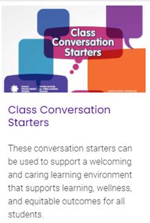 class conversation starters