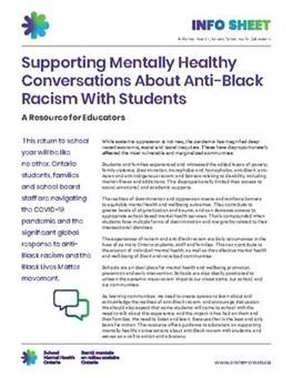 supporting mentally healthy conversation